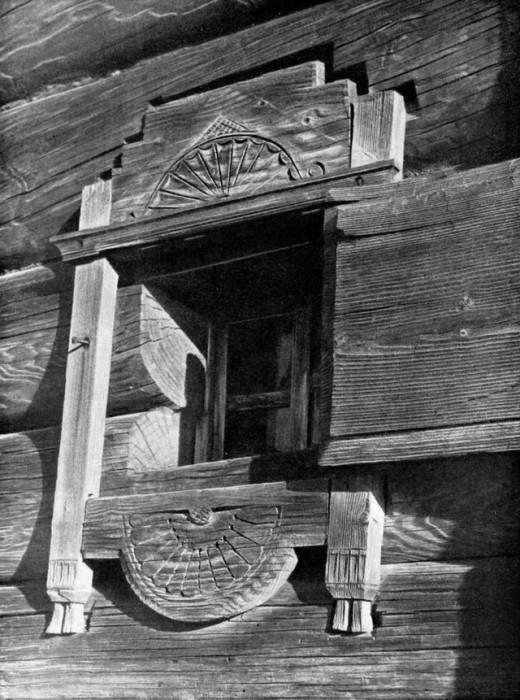 Оконные наличники как символ защиты в русском зодчестве