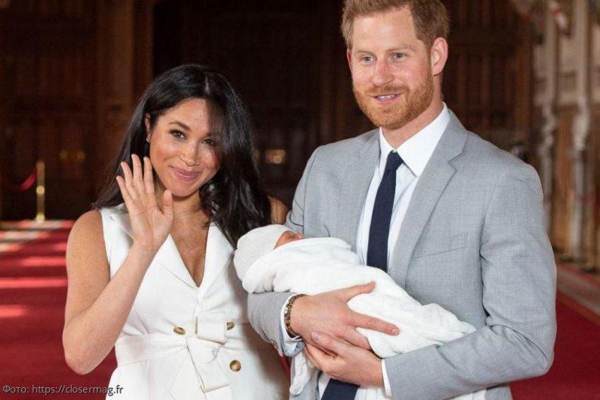 Подписчики заподозрили, что Меган Маркл родила не от принца Гарри