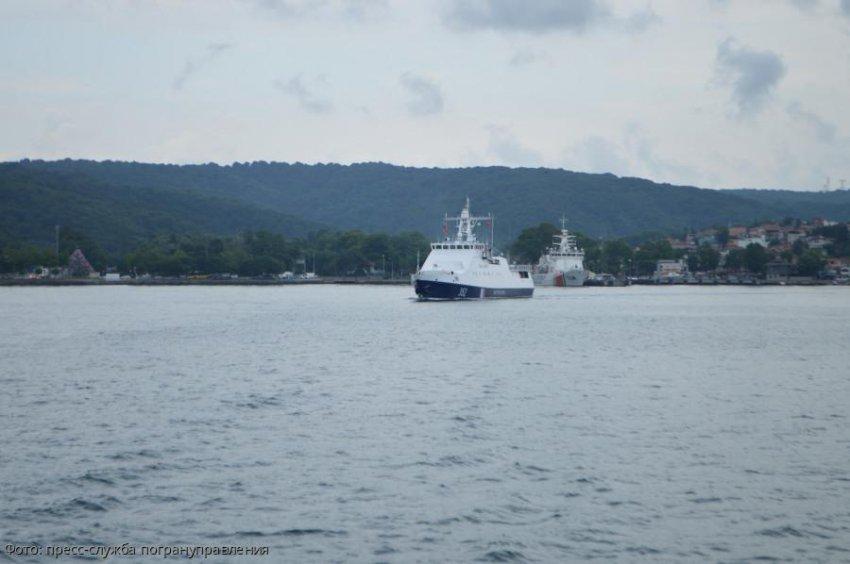 Пограничный сторожевой корабль «Жемчуг» вернулся из заграничного плавания