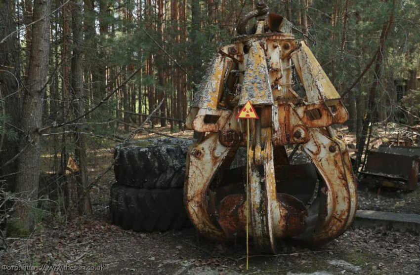Австралиец нашел в Чернобыле кран со смертельно опасным радиационным излучением