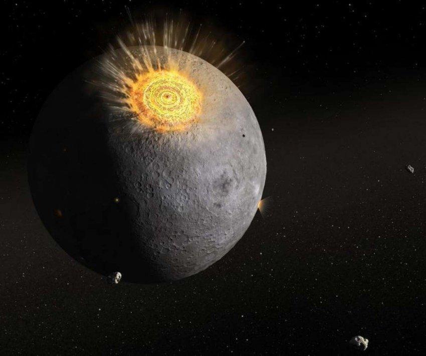 Представители внеземного разума взяли контроль над луной: проявились непонятные блики спутника