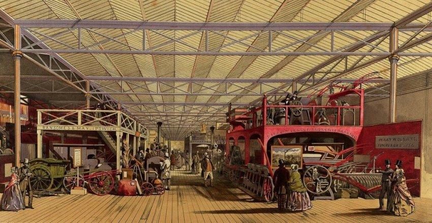 Беспроводное электричество на промышленной выставке XIX века