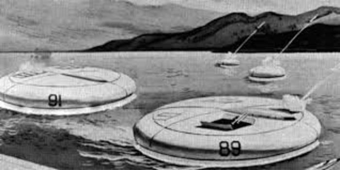 Легендарный проект «Конвэйр» - американский плагиат советских экранопланов