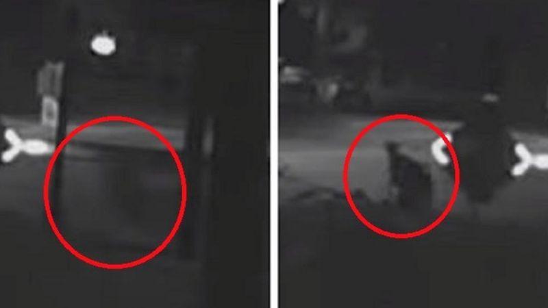 Человек появился из ниоткуда и исчез через несколько секунд: в Сети появилось странное видео