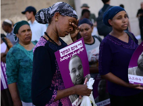 Фотоотчёт беспорядков в Израиле