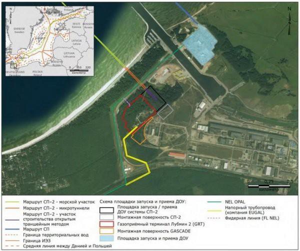 Строительство газопровода «Северный поток 2» – уничтожение природы