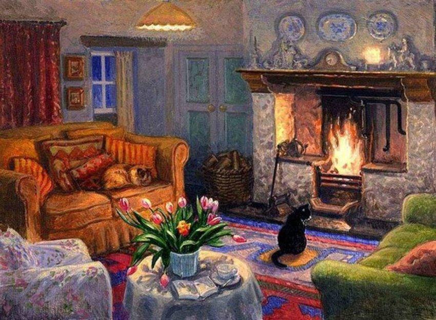 5 признаков, которые говорят о счастливом и уютном доме