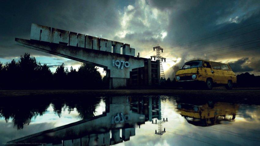Водка на основе чернобыльской воды и пшеницы: в Украине создан алкогольный напиток «Атомик»