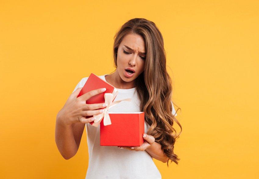 Самые ужасные подарки: они свидетельствуют об отсутствии вкуса