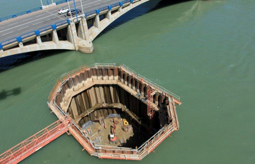 Коффердам - архитектурное чудо строительства под водой