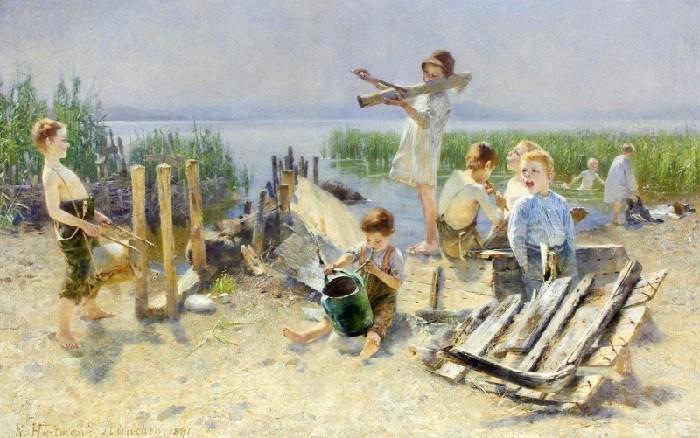 Детские игры и забавы 150-летней давности