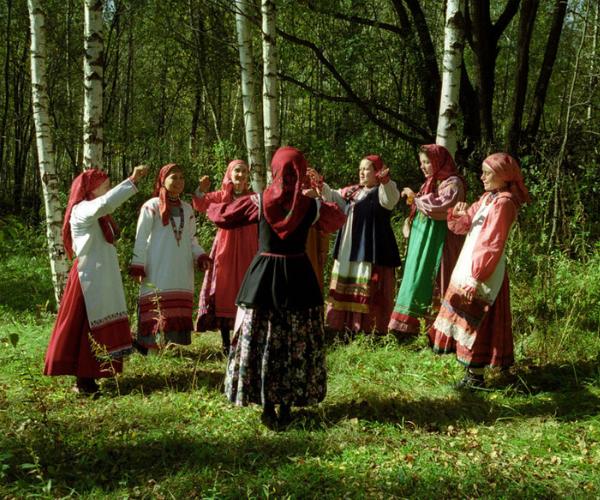 Обрядовые песни для главных славянских праздников