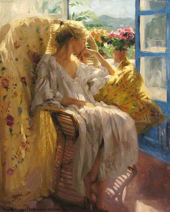 Поэт женской красоты: шедевры испанского художника