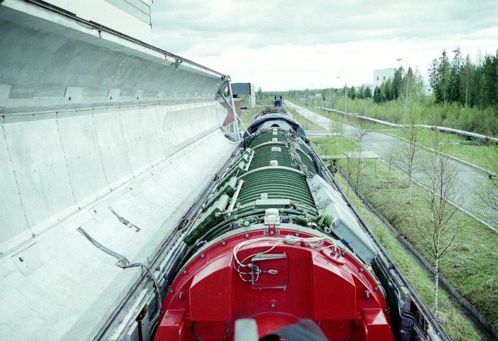 Боевой железнодорожный ракетный комплекс СССР