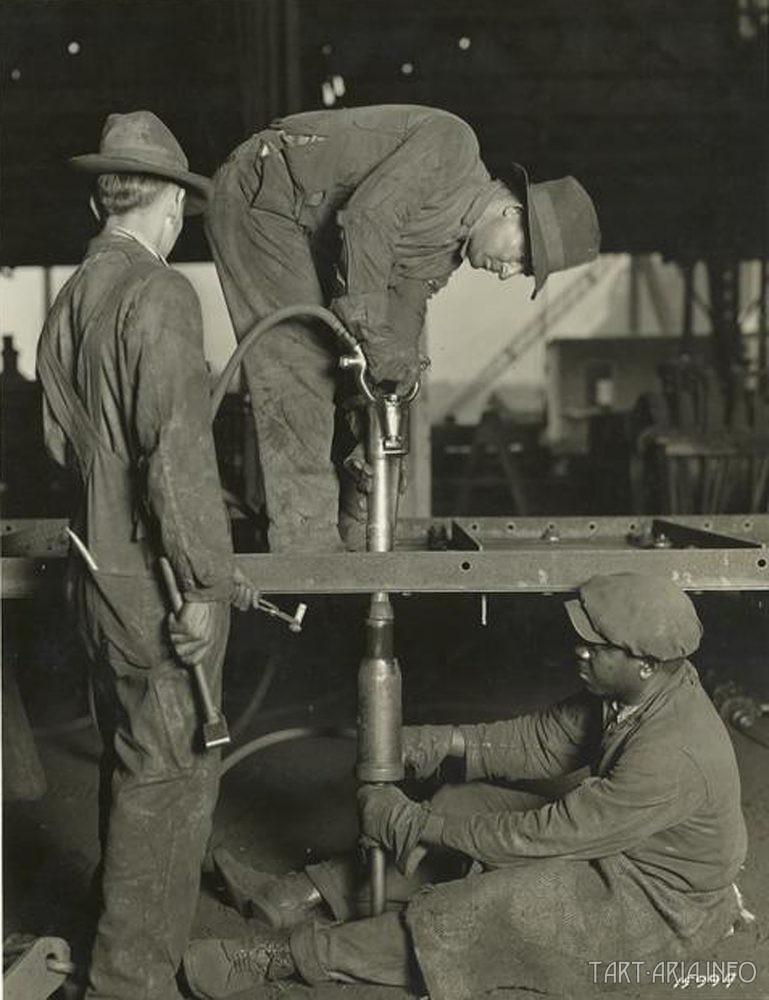 Клёпка в 19 веке - современная загадка металлургов