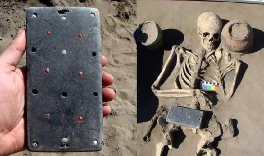 «iPhone» возрастом 2100 лет: странная находка в древней могиле