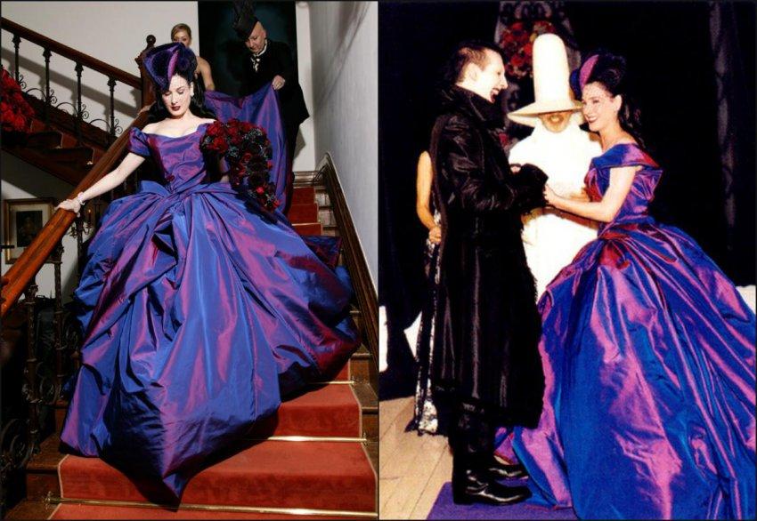 Подружка невесты шокировала гостей на свадьбе своим экстравагантным нарядом