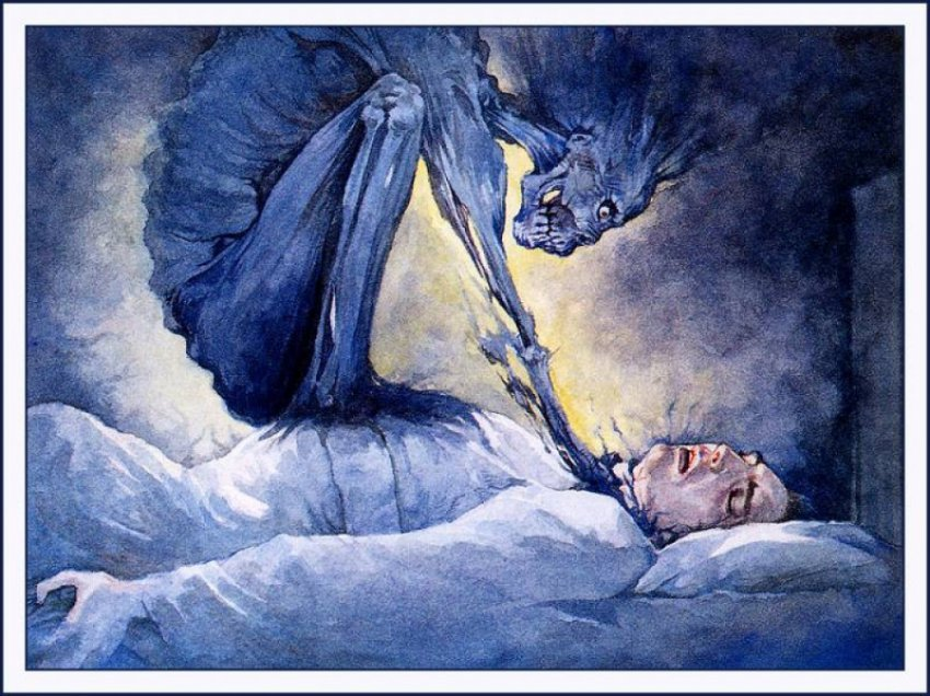 Сонный паралич - генератор галлюцинаций