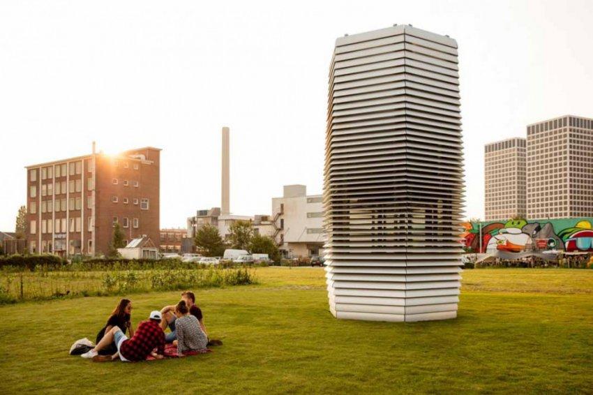 Городской пылесос-очиститель Smog Free Tower. Так ли эффективен?