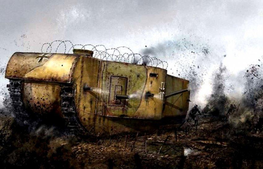 Неоконченный «Колоссаль»: Мобильная крепость Германии