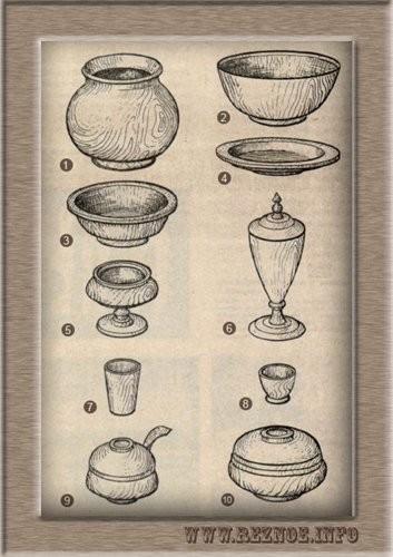 Деревянная посуда славян - как питались наши предки?