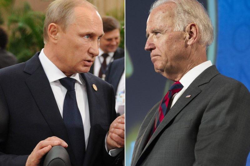 Джо Байден на выборах намерен противостоять Путину, а не Трампу