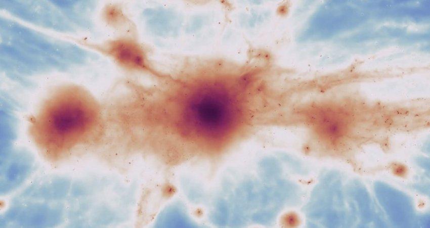 Космическая паутина бесконечной длины обнаружена астрономами