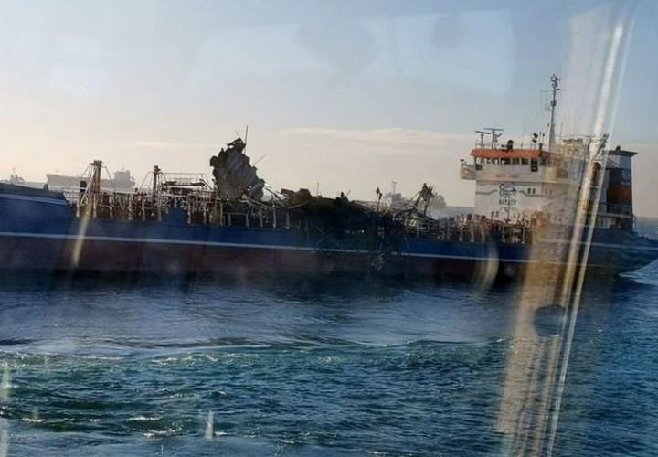 На танкере в Находке прогремел взрыв. Есть жертвы
