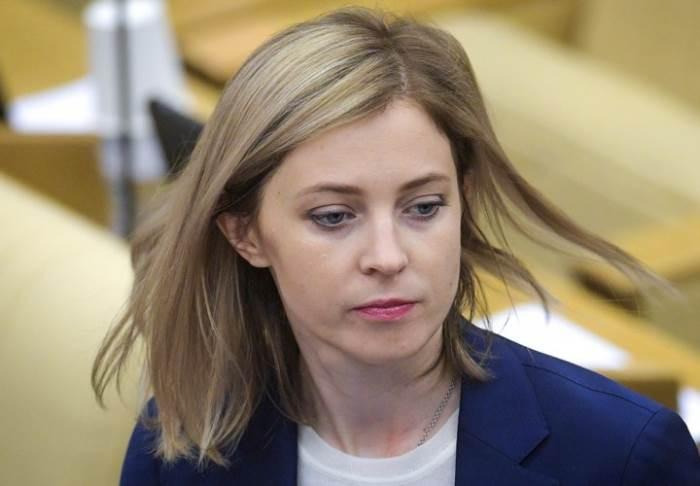 Поклонская рассказала, кто должен дать денег на восстановление Донбасса