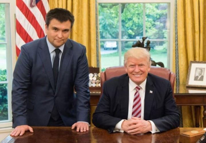 Климкин прокомментировал сообщение о «неукротимой ненависти» Трампа к Украине