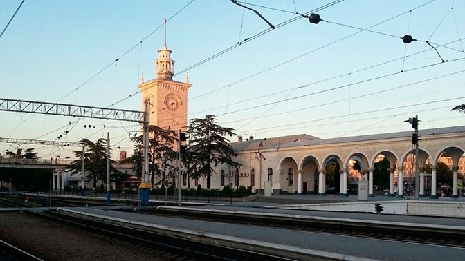 Расписание поездов через Крымский мост в 2019 году опубликовали в управлении РЖД