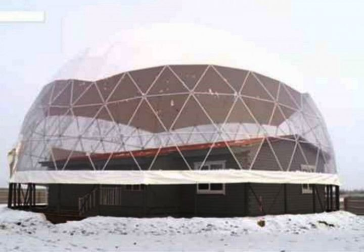 Эксперимент: якутскую семью поселят в доме под энергосберегающим куполом