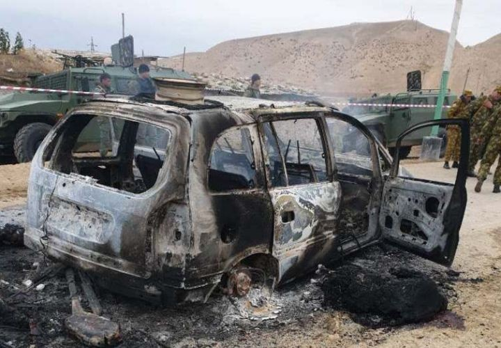 МВД Таджикистана назвало гражданство напавших на погранзаставу боевиков