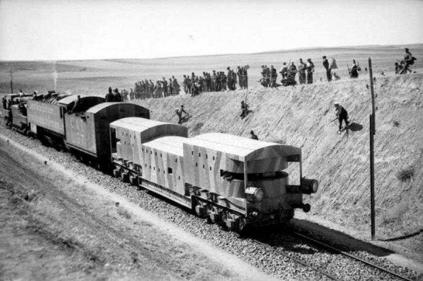 Сокрушительный провал бронепоезда во время Гражданской войны в Испании