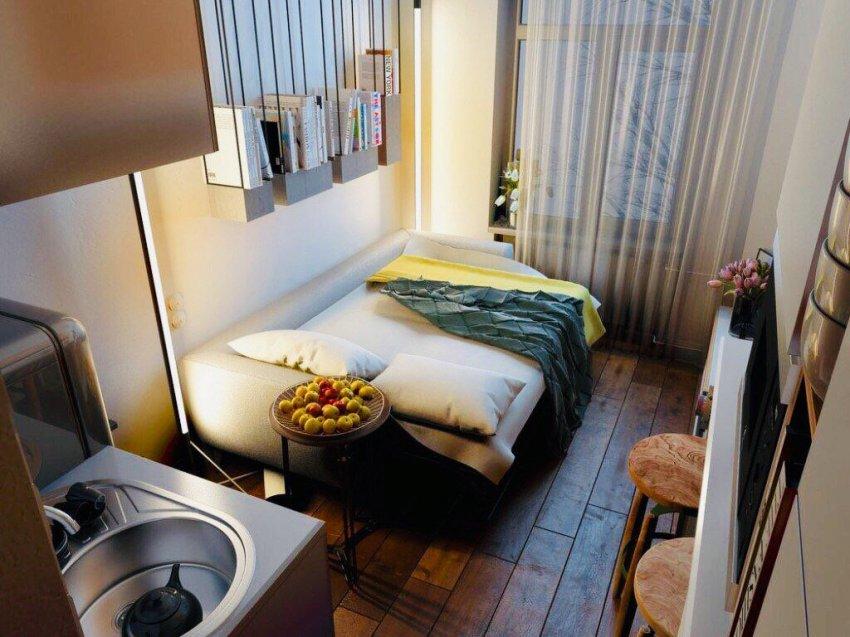 Квартиры площадью 11 кв метров в Москве назвали «доступным жильём согласно майским указам» Владимира Путина