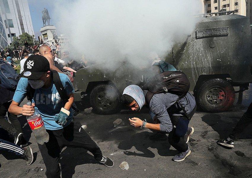 США обвинили Россию в причастности к беспорядкам в Чили в октябре 2019 года