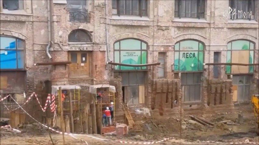 Засыпанные дома, как доказательства всемирного потопа в 19 веке