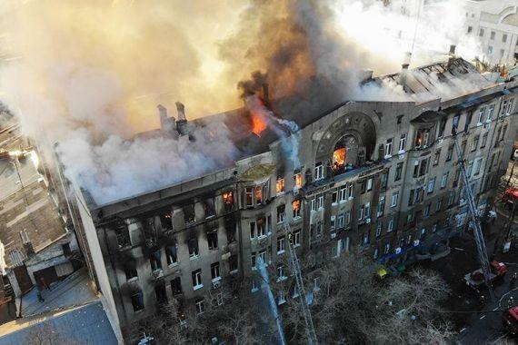Президент Зеленский объявил траур на всей территории Украины