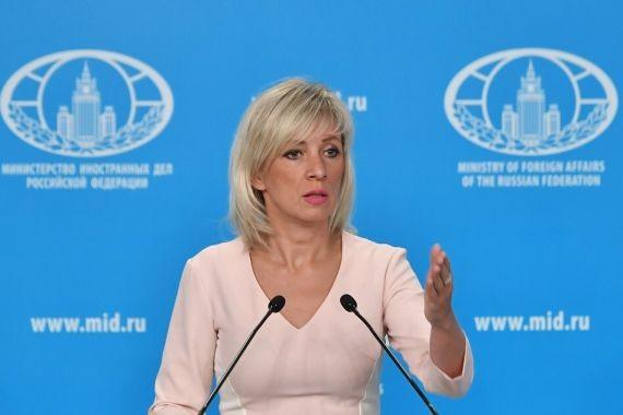 Захарова: Киев стал подходить к переговорам более реалистично