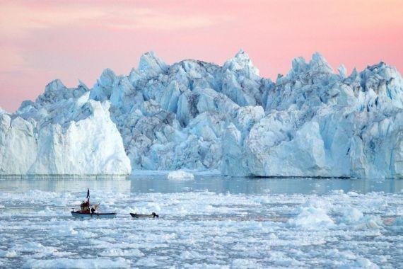 Скорость таяния ледников Гренландии за 30 лет выросла в 7 раз