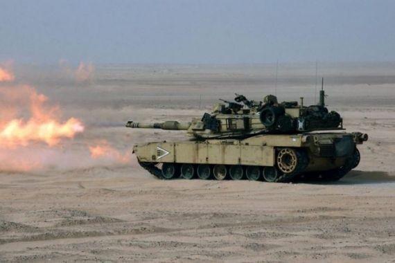 Американские танки провели стрельбы у белорусской границы