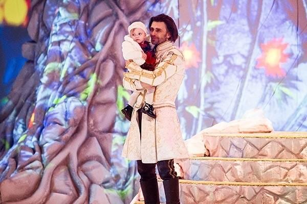 Чернышев показал их с Заворотнюк подросшую дочь