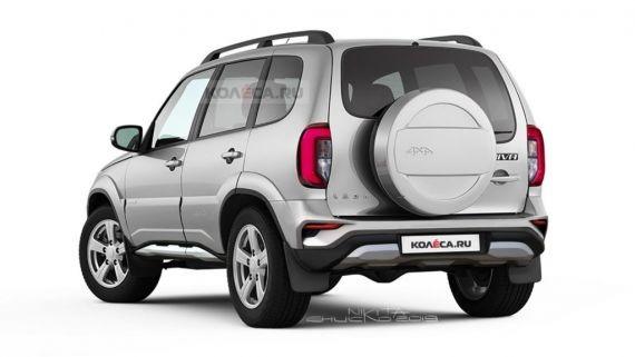В Сети продемонстрировали, какой может быть новая Lada Niva