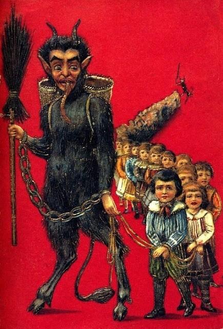 Святой Крампус или Санта Клаус. История чудовища