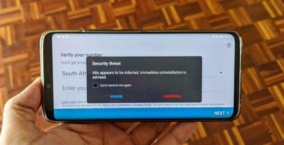 Мессенджер Google Allo на смартфонах с Android причислили к вредоносным