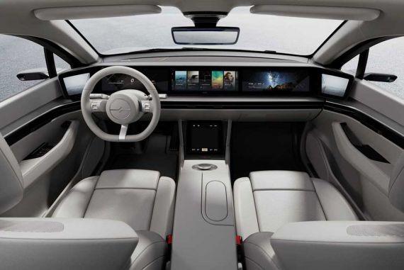 Состоялась презентация электромобиля Sony Vision-S
