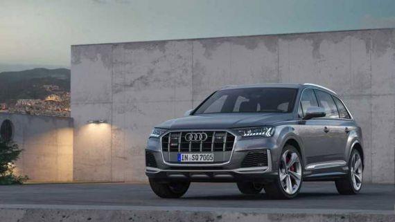 Кроссоверы Audi SQ7 и SQ8 получили бензиновый мотор V8