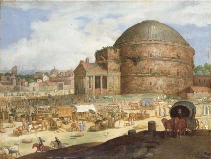 Древнеримский Пантеон – Храм всех богов