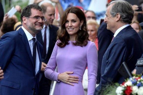 Кейт Миддлтон прокомментировала свою четвертую «беременность»