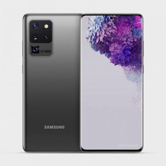 Появилась новая информация о Samsung Galaxy S20 Ultra
